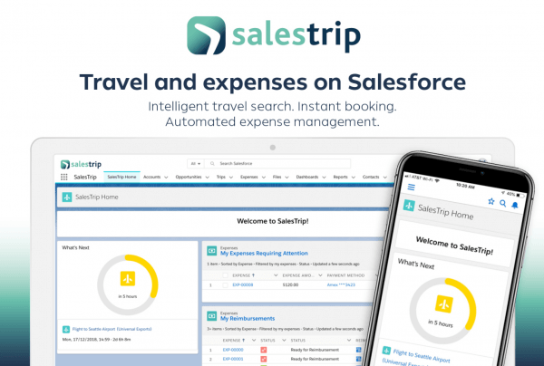 SalesTrip AppExchange entry