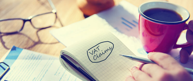 VAT claim notepad