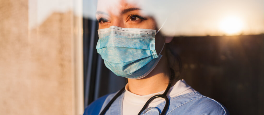Physician with surgical mask - Sunshine Act